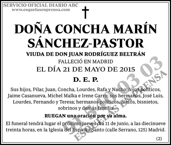 Concha Marín Sánchez-Pastor